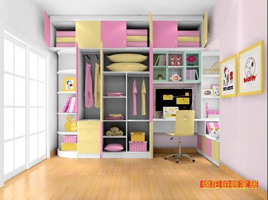 绵阳家具厂儿童房衣柜