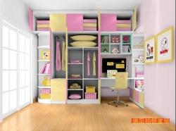 达州家具厂儿童房衣柜